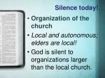 silence today5