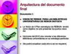 arquitectura del documento final1