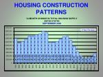 housing construction patterns
