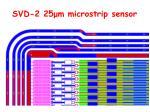 svd 2 25 m microstrip sensor