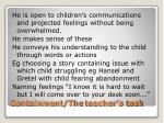 containment the teacher s task
