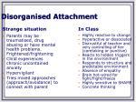 disorganised attachment