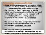 psychological processes affecting relationships