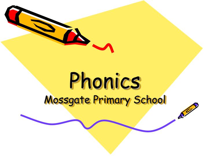 phonics mossgate primary school n.