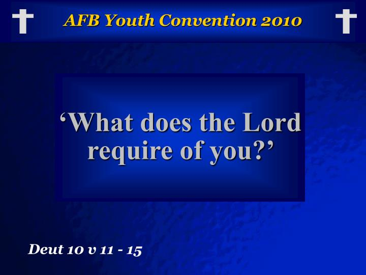 afb youth convention 2010 n.
