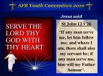 afb youth convention 201010
