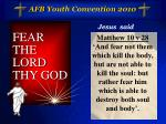 afb youth convention 20107
