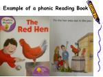 example of a phonic reading book