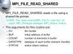 mpi file read shared