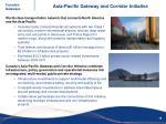 asia pacific gateway and corridor initiative1