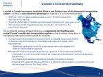 canada s continental gateway1