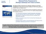 national policy framework for strategic gateways and trade corridors