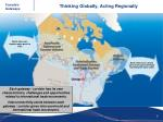 thinking globally acting regionally
