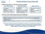thinking globally acting regionally1