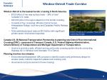 windsor detroit trade corridor