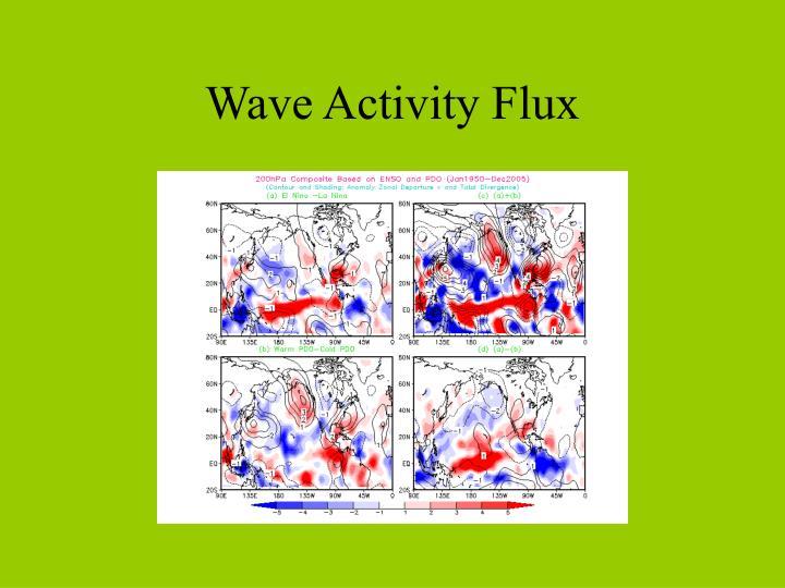 Wave Activity Flux