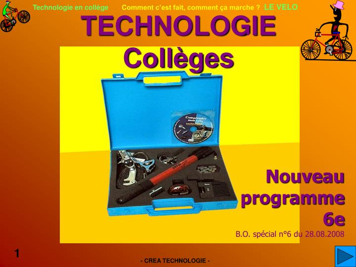 technologie coll ges n.
