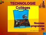 technologie coll ges