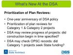 what s new at the dsa2