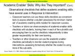academic enabler skills why are they important cont1