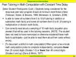 peer tutoring in math computation with constant time delay3