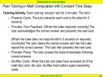 peer tutoring in math computation with constant time delay4