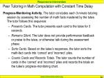 peer tutoring in math computation with constant time delay5
