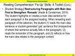 reading comprehension fix up skills a toolkit cont2