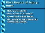 first report of injury back2