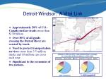 detroit windsor a vital link