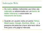 indexa o web2