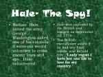 hale the spy