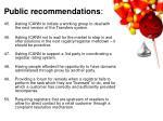 public recommendations10