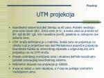 utm projekcija