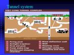 tunnel system