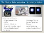 the adaptive optics laboratory university of victoria1