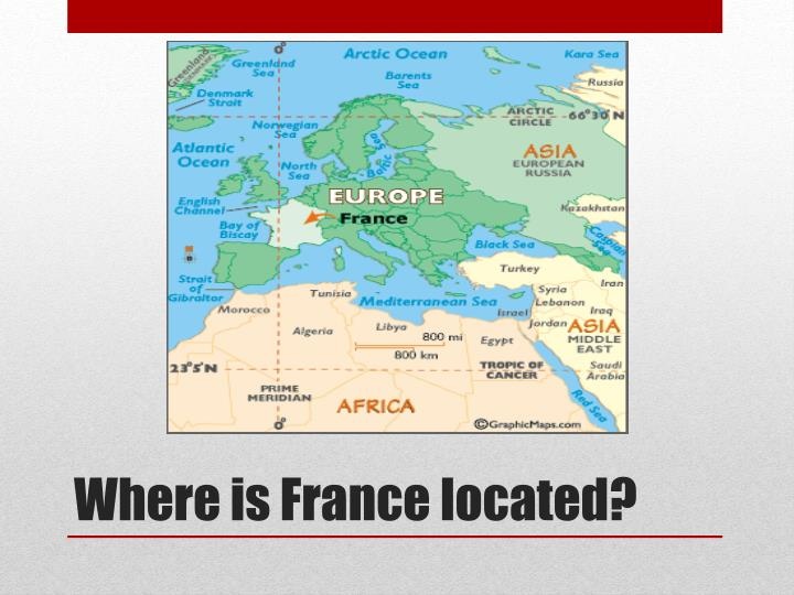 PPT France PowerPoint Presentation ID - Where is france located