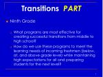transitions part