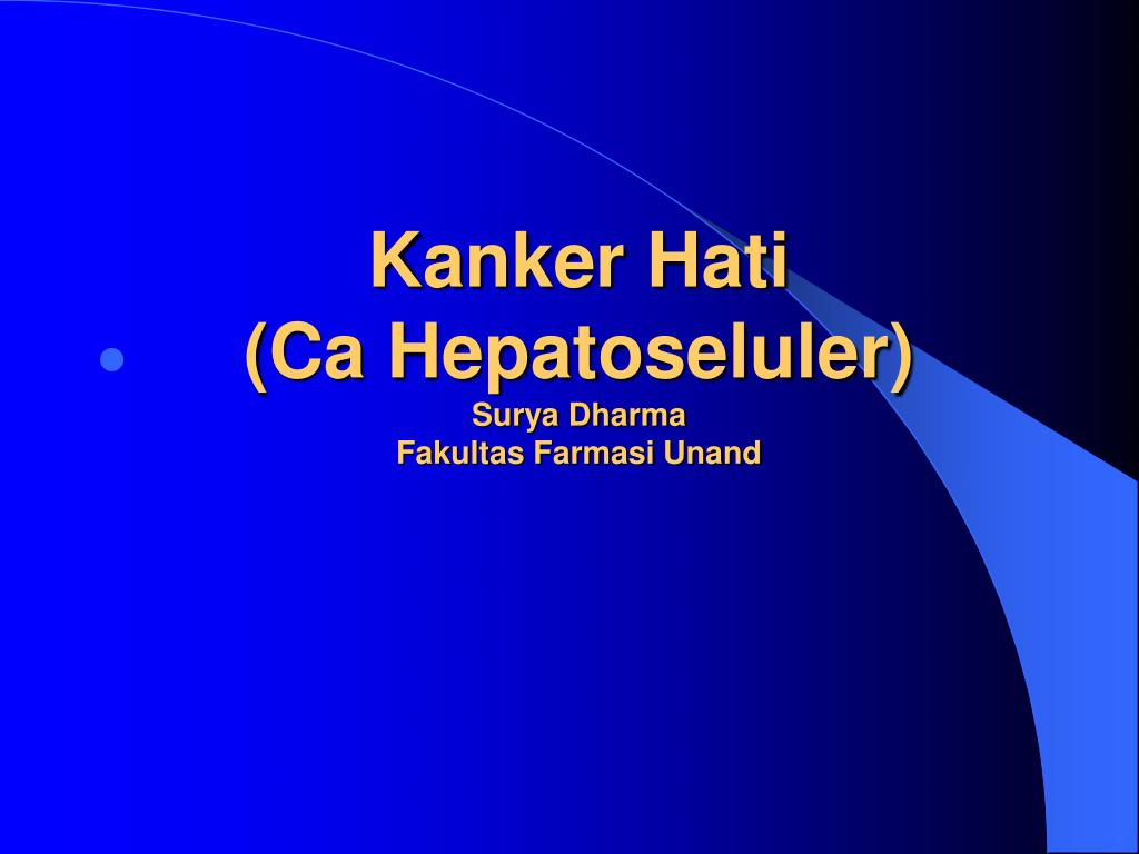 PPT - Penyakit Hati PowerPoint Presentation, free download - ID:3915915