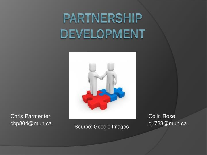 partnership development n.