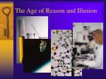 the age of reason and illusion