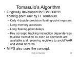 tomasulo s algorithm