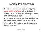 tomasulo s algorithm2