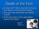 death of the fuhr