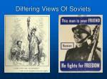 differing views of soviets