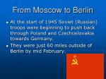 from moscow to berlin