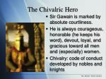 the chivalric hero
