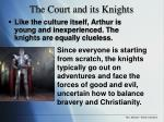 the court and its knights