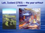 laki iceland 1783 the year without a summer