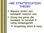 age stratification theory